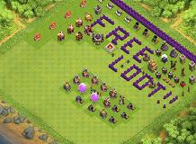 th7 free loot TH 7 Clash of Clans Base Layout