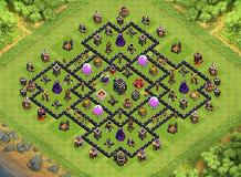 omid TH 9 Clash of Clans Base Layout