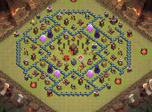 War TH 10 Clash of Clans Base Layout