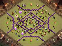 adhis base war TH 8 Clash of Clans Base Layout