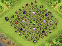 th9 latest TH 9 Clash of Clans Base Layout