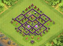 tyguvjhvjvjh TH 7 Clash of Clans Base Layout