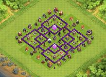 Op TH 7 Clash of Clans Base Layout