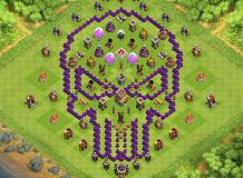 Q TH 8 Clash of Clans Base Layout