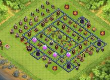 th 10 strong TH 10 Clash of Clans Base Layout
