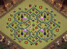 town hall 10 TH 10 Clash of Clans Base Layout