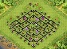 TH8 Farming Base TH 8 Clash of Clans Base Layout