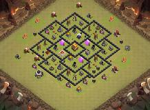 re TH 4 Clash of Clans Base Layout
