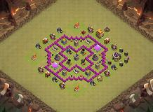 Jninjay TH 6 Clash of Clans Base Layout