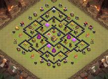 War Base 006 TH 8 Clash of Clans Base Layout