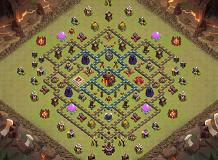 Clash with Cam Th10 Ultimate - TH10 War Base Base by