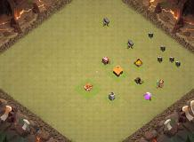 test TH 1 Clash of Clans Base Layout