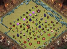 wow TH 10 Clash of Clans Base Layout