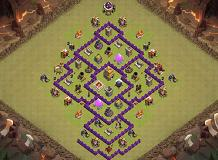 Luciano TH 7 Clash of Clans Base Layout