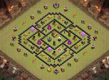 new base? TH 8 Clash of Clans Base Layout