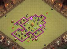vorge TH 6 Clash of Clans Base Layout