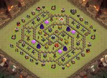 th TH 9 Clash of Clans Base Layout