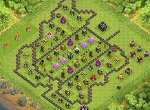 iran TH 9 Clash of Clans Base Layout