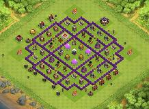 My Farming Base TH 8 Clash of Clans Base Layout