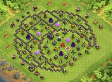 Aris TH 9 Clash of Clans Base Layout