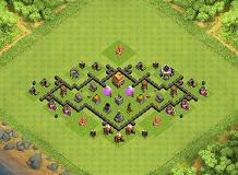 Gambar Base Coc Th 7 Kelelawar 8