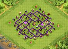eawan TH 7 Clash of Clans Base Layout