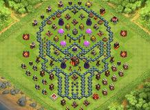 th 10 layouts TH 10 Clash of Clans Base Layout