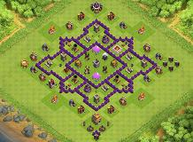 Th7 Trophy Base Layouts Top 1000 Clash Of Clans Tools