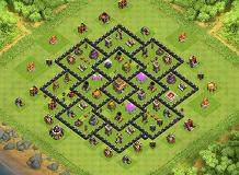 jheann TH 8 Clash of Clans Base Layout