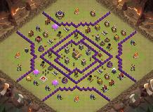 Best Town War TH 8 Clash of Clans Base Layout