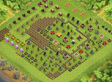 lox TH 1 Clash of Clans Base Layout