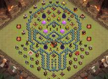 Vv TH 10 Clash of Clans Base Layout