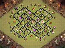 1 TH 8 Clash of Clans Base Layout