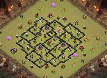 any... TH 8 Clash of Clans Base Layout