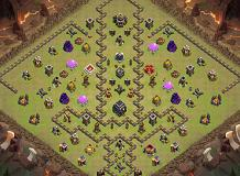 232 TH 9 Clash of Clans Base Layout