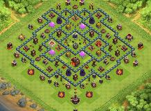 Steger TH 10 Clash of Clans Base Layout