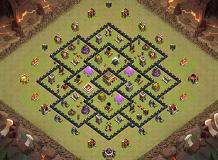 me TH 8 Clash of Clans Base Layout