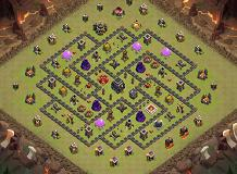 ARMENIA TH 9 Clash of Clans Base Layout