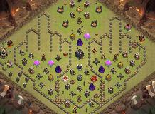 mk na TH 9 Clash of Clans Base Layout