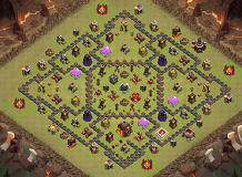 WALA TH 10 Clash of Clans Base Layout