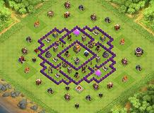 lolololool TH 7 Clash of Clans Base Layout