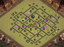 The 9 TH 9 Clash of Clans Base Layout