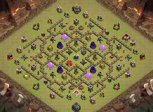 Best 9 TH 9 Clash of Clans Base Layout