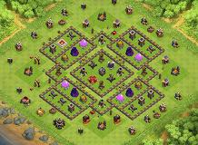 mohammad TH 9 Clash of Clans Base Layout