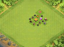 max TH 1 Clash of Clans Base Layout