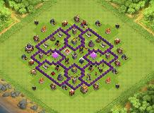 Th7 Farming Base Layouts Top 1000 Clash Of Clans Tools