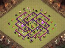townhall level 7 TH 7 Clash of Clans Base Layout