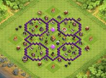 l TH 7 Clash of Clans Base Layout