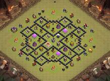 Laso TH 8 Clash of Clans Base Layout