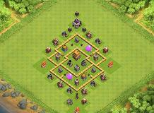 Nerdville TH 5 Clash of Clans Base Layout